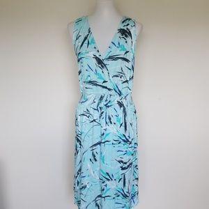 Lane Bryant abstract print dress size 14/16